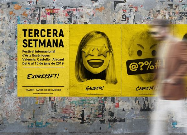 Posters of the Tercera Setmana festival