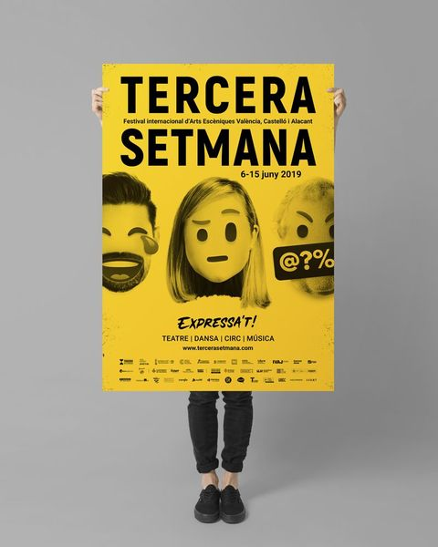 Poster of the Tercera Setmana festival