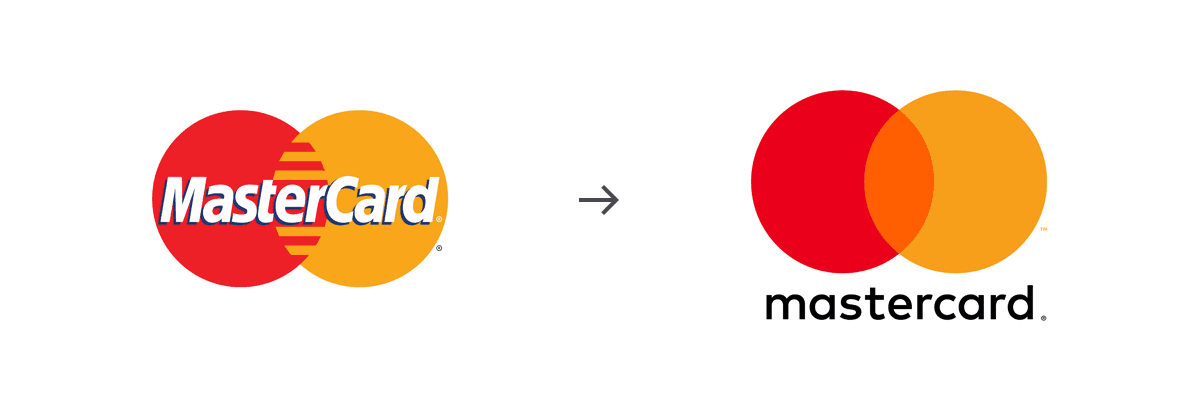 Mastercard brand redesign